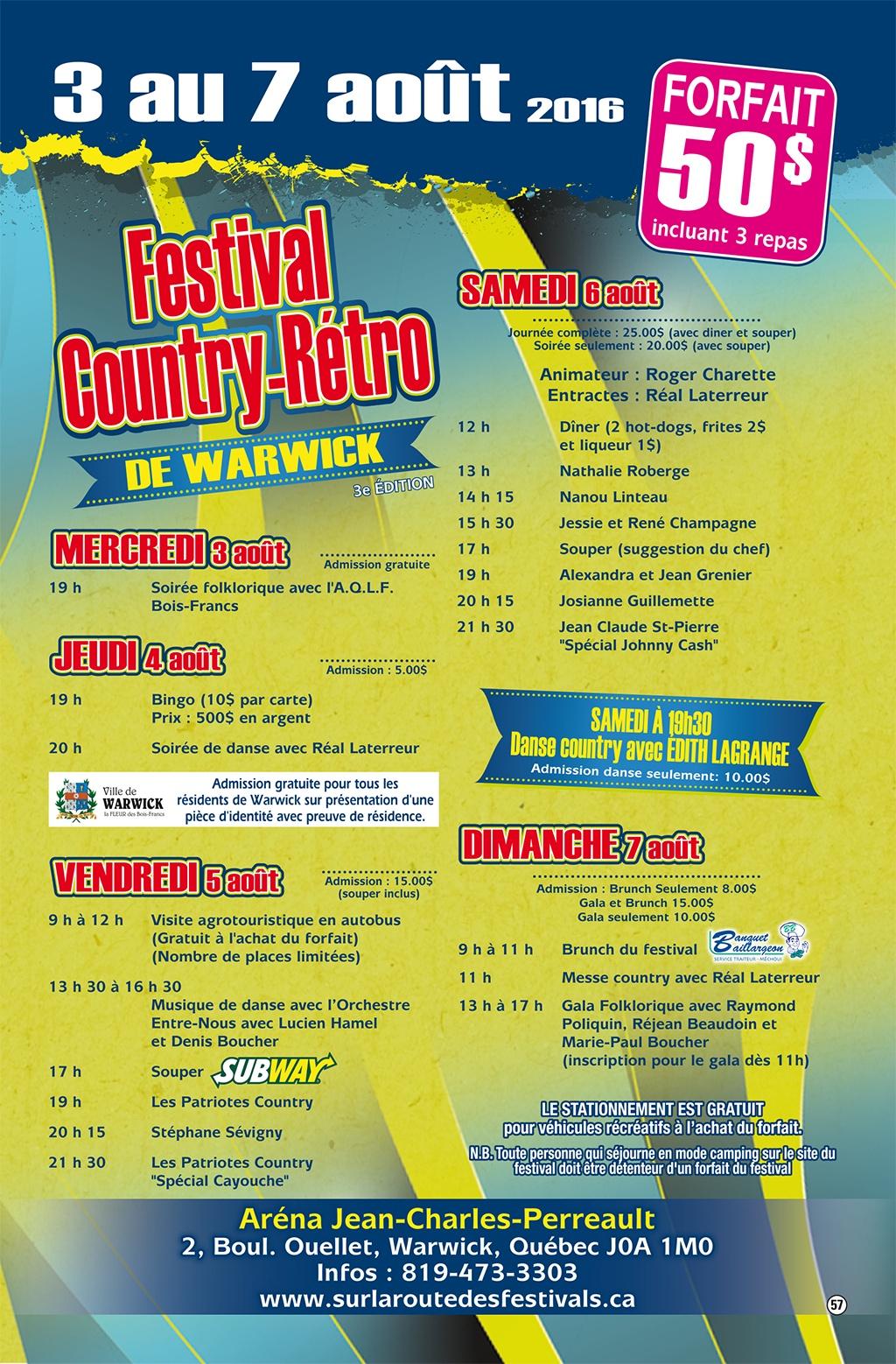 Festival Country R 233 Tro De Warwick Warwick